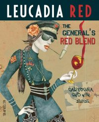 2012 The General's Red Blend California Syrah Blend