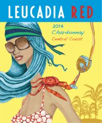 Leucadia Red 2014 Central Coast Chardonnay