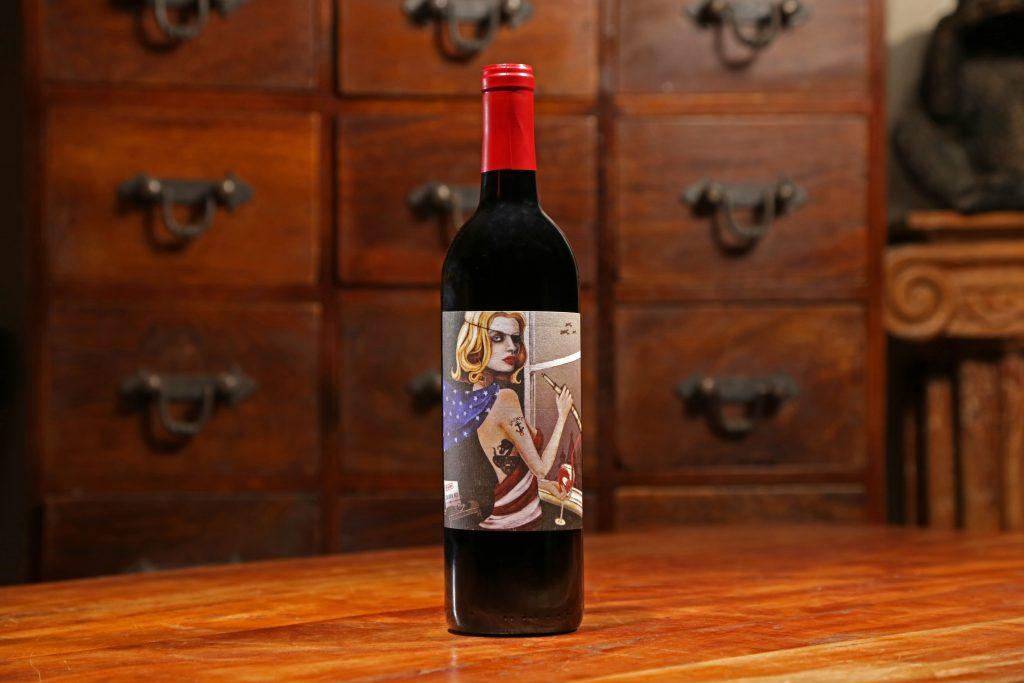The Spy's Red Blend_Leucadia Red wine