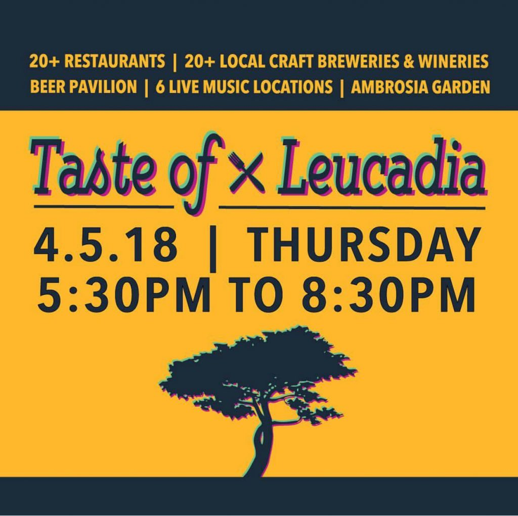 Leucadia Red Wine Taste of Leucadia