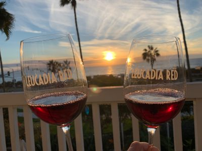 Leucadia Red Sunset